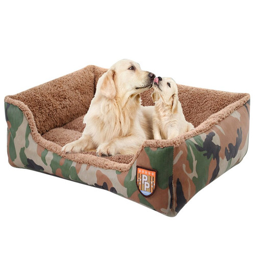 Pet Dog Bench Warm Beds Mat for Large Dogs Cushion