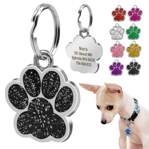 Dog ID Tag Personalized for Small Dogs Customized