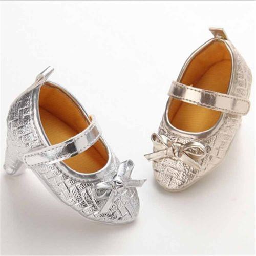Newborn Baby Girl High Heels Soft Sole Shoes