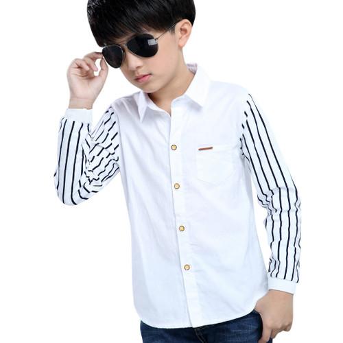 Teen Boys Shirts in a unique Stripe Design