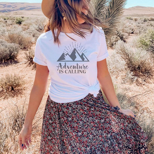 Adventure is Calling Graphic T-Shirt