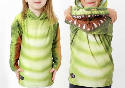 Alligator Hoodie Chomp Shirt