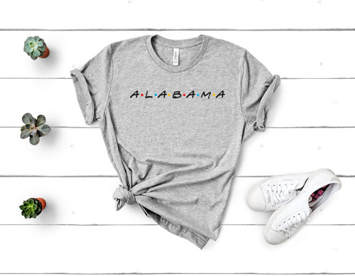 Alabama Friends Tee