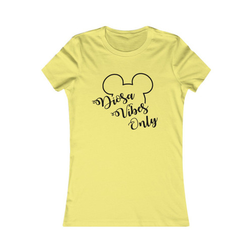 Dioss Vibes Only Mickey Women's Tee