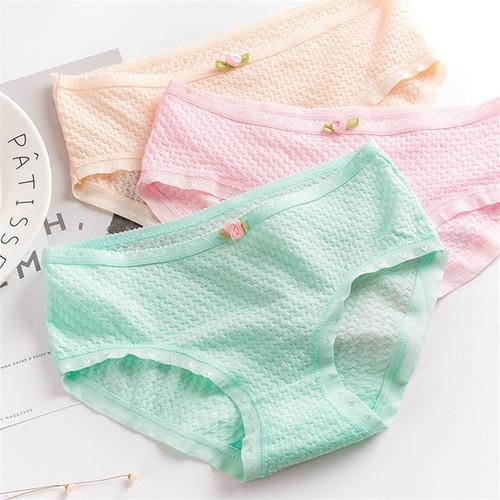 Briefs for women cotton solid colors