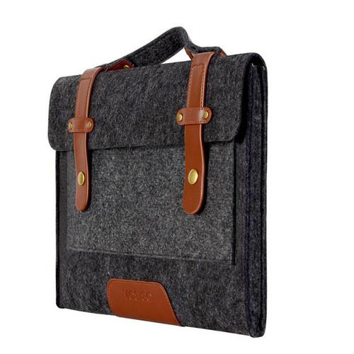 13/15 inch Woolen Felt Notebook Shoulder Design