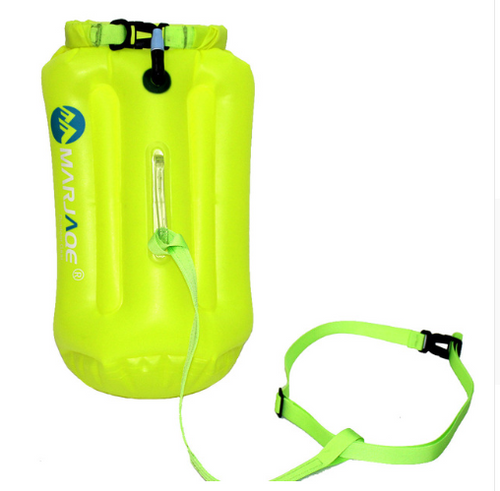 Inflatable Storage Swimming Float Easy To Blow Drifting Bag
