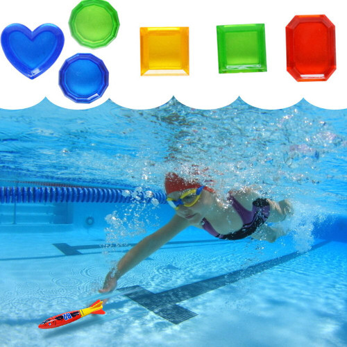 Diving Underwater Swimming Colorful Pool Sink Toys