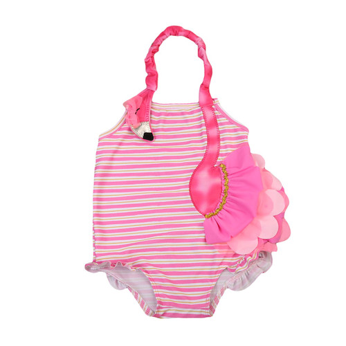 Girl's Clothing Swimsuit in Pink Design