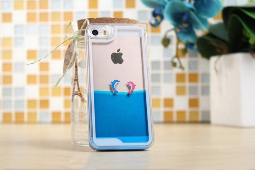 Dolphin's Swimming iPhone Case