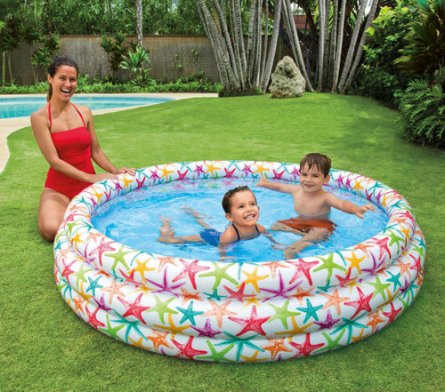 Round Inflatable Pool for Baby Swimming Bathing (Starfish)
