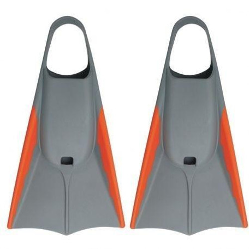 DORSAL Bodyboard Floating Swimfins (Flippers) Grey