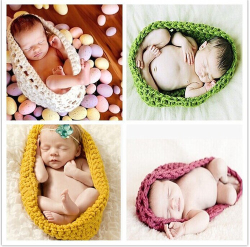 Baby Bowl Cocoon Photography Props Handmade