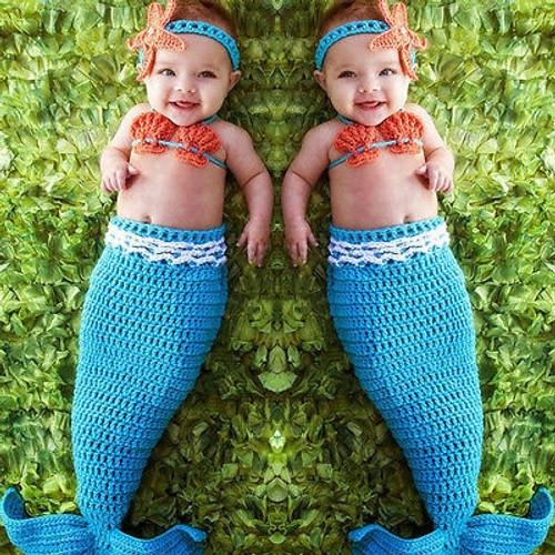 Newborn Photography Props Mermaid