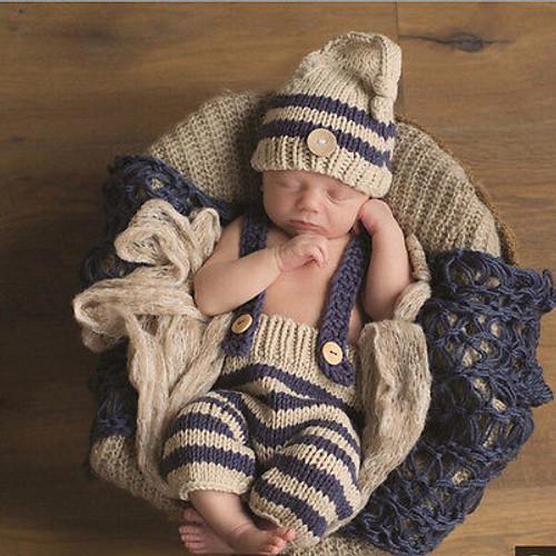 Newborn Photography Props Crochet Knitting Costume