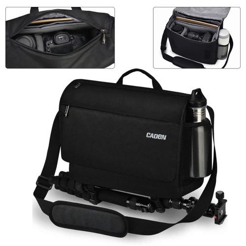 Camera Sling Bag Waterproof Photography Case DSLR Travel Shoulder