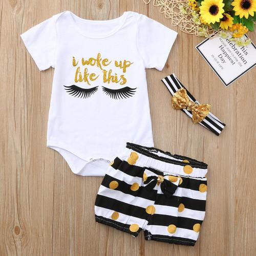 Summer Newborn Infant Girl's Clothes