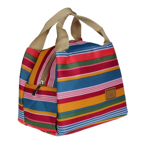 Thermal Insulated Lunch bag Tote Cooler Zipper
