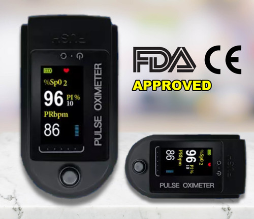 Pulse Fingertip Oximeter Blood Oxygen SpO2 Monitor