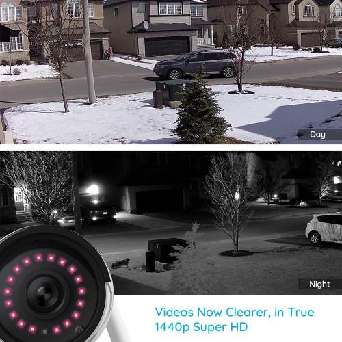 RLC-410W Security Camera 4MP 2.4G/5Ghz WiFi Onvif infrared night
