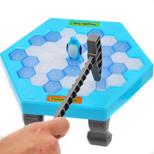 Save Penguin Ice Kids Puzzle Game Party Toy
