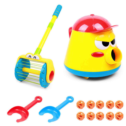 Electric Whirl Ball Launchers Walker Baby Vacuum Cleaner
