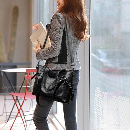 Fashion Women's Tote Casual Black