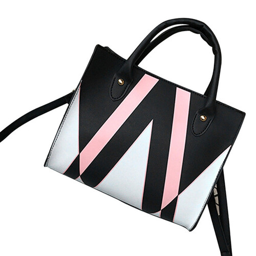 Handbags for Women Famous Brands Tote Black/Pink/White