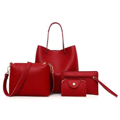 4pc Bags for Women unique Pattern Leather