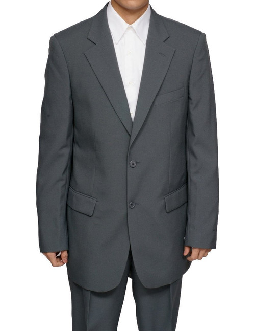 Men's 2 Button (Grey) Dress Suit