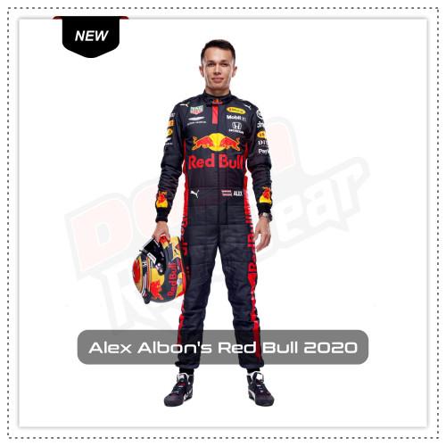 Alex Albon's Red Bull 2020 Race Suit