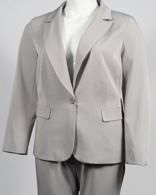 Danillo Grey Designer Women's Pants Suit