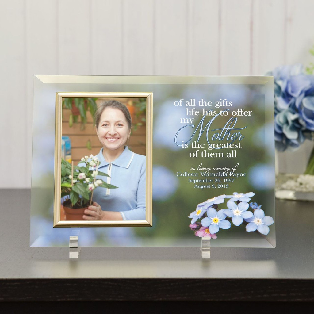 Memorial Picture Frames For Mom Greatest Gift Memorial Frame