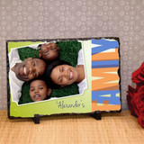 Our Family Personalized Photo Plaque