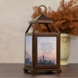 Lord's Prayer Personalized Memorial Lantern