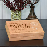My Wife Personalized Keepsake Box