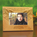 Living Without You Personalized  Sympathy Frame