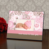 Gift from Heaven Personalized Pink Picture Frame