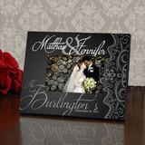 Elegant Personalized Wedding Frame