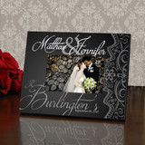 Elegant Personalized Wedding Frame