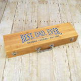 Best Dad Ever Personalized Barbeque Set
