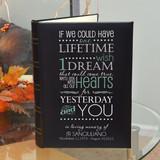 One Wish Personalized Memorial Photo Album