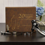 Happy Anniversary Personalized Wine Gift Set