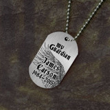 My Guardian Angel Memorial Dog Tag