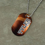 Personalized Football Dog Tag