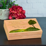 Miss Me But Let Me Go Keepsake Box