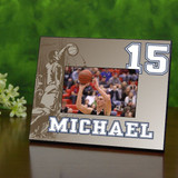 Retro Personalized Basketball Picture Frame
