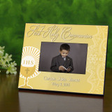 Communion Chalice Personalized Frame