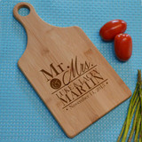 Mr. & Mrs. Personalized Cutting Board