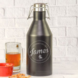 Groomsman Private Label Personalized Growler